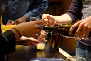 Cocktail d'ouverture Univerciné britannique 2015