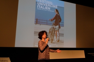 présentation du festival italien par Gloria Paganini